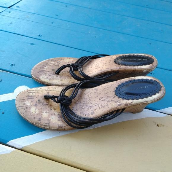 Hillard & Hanson vintage sandals size 7